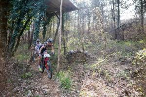 Carraro and Halzer in action on single track